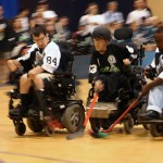 wheelchair hockey a Milano