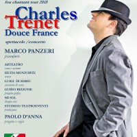 LOCANDINA SPETTACOLO CHARLES TRENT  DOUCE FRANCE  MILANO